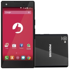 Smartphone Positivo Octa 8GB X800 13,0 MP 2 Chips Android 4.4 (Kit Kat) 3G Wi-Fi