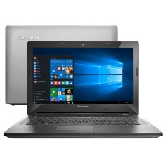 "Notebook Lenovo G Intel Core i7 5500U 5ª Geração 8GB de RAM HD 1 TB 14"" Windows 10 Home G40"