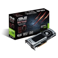 Placa de Video NVIDIA GeForce GTX Titan Black 6 GB GDDR5 384 Bits Asus GTXTITANBLACK-6GD5