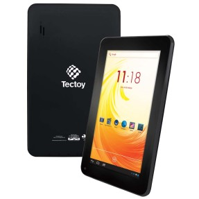 "Tablet Tectoy 4GB LCD 7"" Android 4.2 (Jelly Bean Plus) Wind TT-2725"