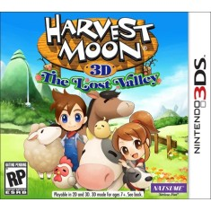 Jogo Harvest Moon: The Lost Valley Natsume Nintendo 3DS