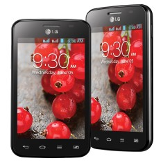 Smartphone LG Optimus L4 II Dual TV Digital 4GB E467 3,0 MP 2 Chips Android 4.1 (Jelly Bean) Wi-Fi 3G