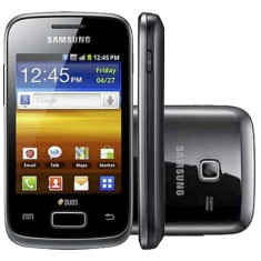 Smartphone Samsung Galaxy Y Duos S6102 3,2 MP 2 Chips Android 2.3 (Gingerbread) Wi-Fi 3G