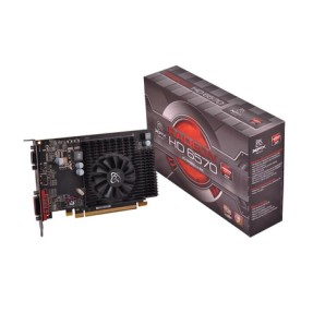 Placa de Video ATI Radeon HD 6570 1 GB DDR3 64 Bits XFX HD-657X-ZDF2