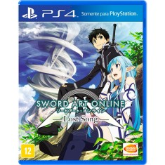 Jogo Sword Art Online Lost Song PS4 Bandai Namco
