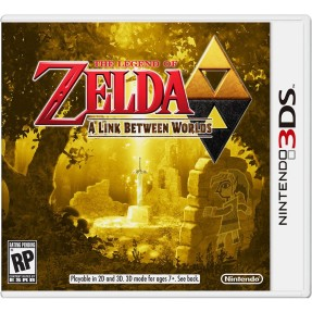 Jogo The Legend of Zelda: A Link Between Worlds Nintendo 3DS