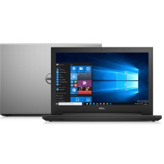 "Notebook Dell Inspiron 3000 Intel Core i3 4005U 4ª Geração 4GB de RAM HD 1 TB 15,6"" Windows 10 i15-3542-C10"
