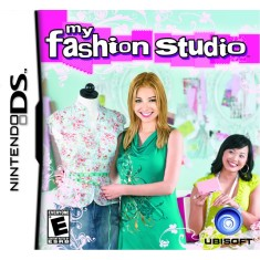 Jogo My Fashion Studio Ubisoft Nintendo DS
