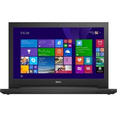 "Notebook Dell Inspiron 3000 Intel Core i3 4005U 4ª Geração 4GB de RAM HD 1 TB 15,6"" Windows 8.1 I15-3542-B10"