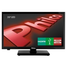 "TV LED 20"" Philco PH20U21D 2 HDMI"