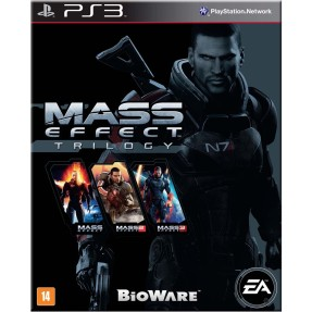 Jogo Mass Effect Trilogy PlayStation 3 EA