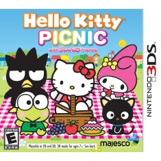 Jogo Hello Kitty Picnic with Sanrio Friends Majesco Entertainment Nintendo 3DS