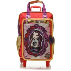 Mochila com Rodinhas Escolar Sestini Ever After High 16Z M 64362