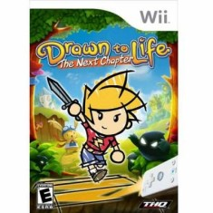 Jogo Drawn to Life Next Chapter Wii THQ