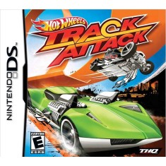 Jogo Hot Wheels Track Attack THQ Nintendo DS