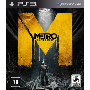 Jogo Metro: Last Light Limited Edition PlayStation 3 Deep Silver