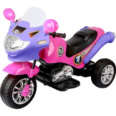 Mini Triciclo Elétrico Speed Chopper Pink - Homeplay