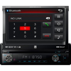 "DVD Player Automotivo Dual 7 "" DAS1007BT USB Entrada para camêra de ré"