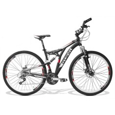 Bicicleta Mountain Bike GTSM1 21 Marchas Aro 29 Suspensão Full Suspension Freio a Disco Advanced New