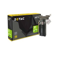 Placa de Video NVIDIA GeForce GT 710 1 GB DDR3 64 Bits Zotac ZT-71301-20L