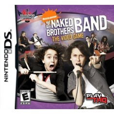 Jogo Rock University Presents The Naked Brothers Band THQ Nintendo DS