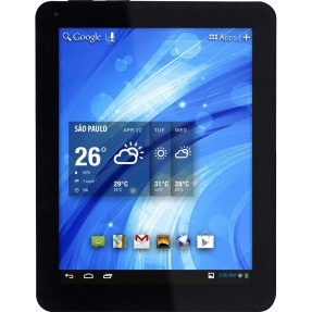 "Tablet Tectoy Glow 8GB LCD 9,7"" Android 4.1 (Jelly Bean) 2 MP TT-2905"