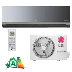 Ar Condicionado Split Hi Wall LG Libero Art Cool 12000 BTUs Inverter Controle Remoto Frio AS-Q122BRG2