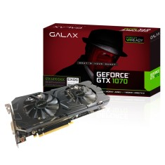 Placa de Video NVIDIA GeForce GTX 1070 8 GB GDDR5 256 Bits Galax 70NSH6DHL4EC