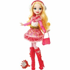 Boneca Ever After High Feitiço De Inverno Apple White Mattel
