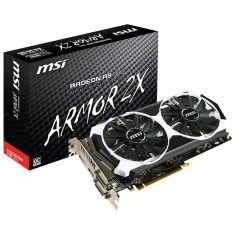 Placa de Video ATI Radeon R9 380 2 GB GDDR5 256 Bits MSI R9 380 2GD5T OC