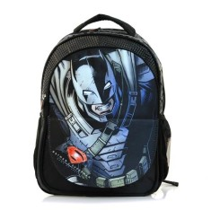 Mochila Escolar Luxcel Batman E Superman IS31451SB