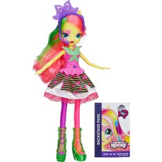 Boneca My Little Pony Equestria Girls Rainbow Rocks Fluttershy Hasbro