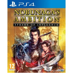 Jogo Nobunagas Ambition Sphere of Influence PS4 Tecmo