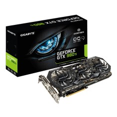 Placa de Video NVIDIA GeForce GTX 980 Ti 6 GB GDDR5 384 Bits Gigabyte GV-N98TWF3OC-6GD