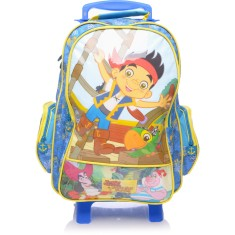 Mochila com Rodinhas Escolar Dermiwil Jake and the Neverland Pirates Disney G 60256