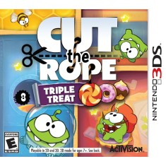 Jogo Cut the Rope: Triple Treat Activision Nintendo 3DS