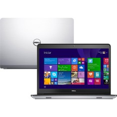 "Notebook Dell Inspiron 5000 Intel Core i5 5200U 5ª Geração 8GB de RAM HD 1 TB Híbrido SSD 8 GB 14"" Touchscreen Radeon HD R7 M265 Windows 8.1 5448"