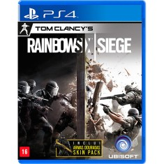 Jogo Tom Clancy's Rainbow Six Siege PS4 Ubisoft