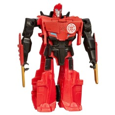 Boneco Transformers Sideswipe Robots In Disguise One Step B0068 - Hasbro