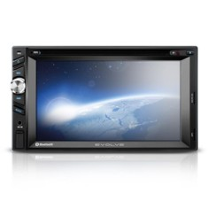 "Central Multimídia Automotiva Multilaser 6 "" P3261 Touchscreen Entrada para camêra de ré"