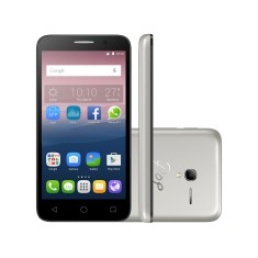 Smartphone Alcatel Pop 3 TV Digital 8GB 5016J 8,0 MP 2 Chips Android 5.1 (Lollipop) 3G Wi-Fi