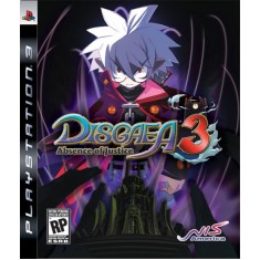 Jogo Disgaea 3 Absence of Justice PlayStation 3 Atlus