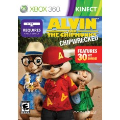Jogo Alvin and the Chipmunks: Chipwrecked Xbox 360 Majesco Entertainment
