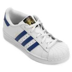 Tênis Adidas Infantil (Menino) Casual Superstar Foundation