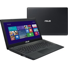 "Notebook Asus X Intel Core i3 2375M 2ª Geração 2GB de RAM HD 320 GB 14"" Windows 8 X451CA-BRAL-VX100H"
