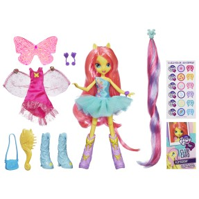 Boneca My Little Pony Equestria Girls Fluttershy Hasbro