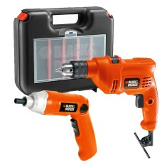 Kit Furadeira Parafusadeira Black&Decker - TM505K9036