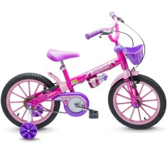 Bicicleta Nathor Aro 16 Freio V-Brake Top Girls