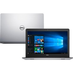 "Notebook Dell Inspiron 5000 Intel Core i7 6500U 6ª Geração 16GB de RAM HD 1 TB Híbrido SSD 8 GB 15,6"" Touchscreen GeForce 930M Windows 10 Home i15-5557-A40"
