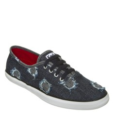Tênis Keds Feminino Casual Champion Star Denin